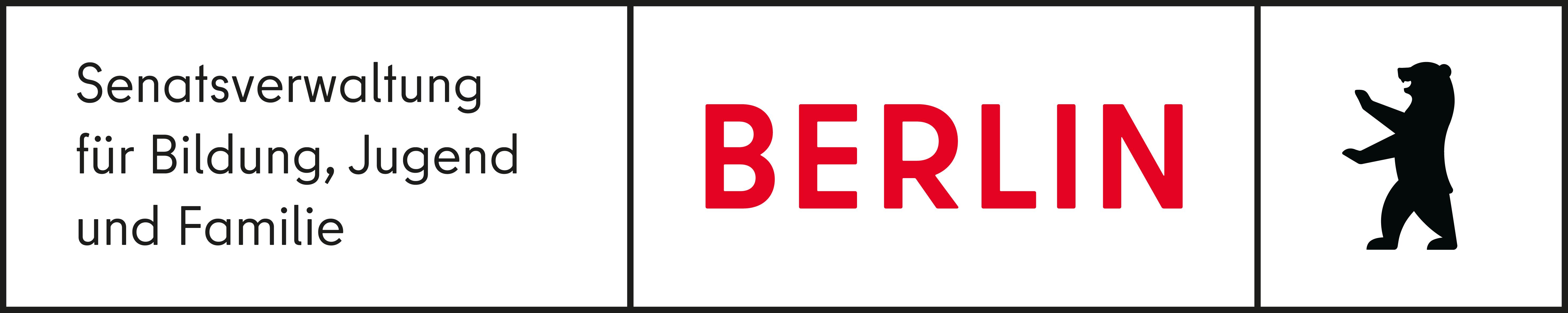 Logo: Berliner Senatsverwaltung für Bildung, Jungend und Familie